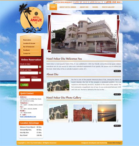 Hotel Ankur - Diu